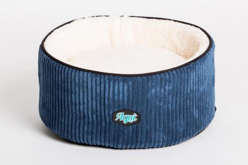 Bamboo Bett Blau